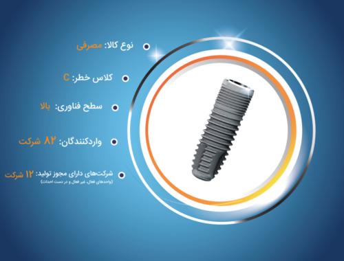 تولید ایمپلنت های دندانی
